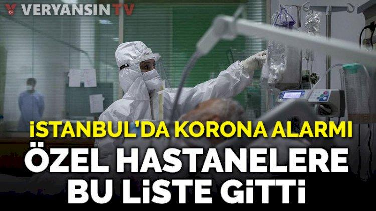İstanbul'da salgın alarmı; özel hastanelerin 'pandemi hastanesi' olması planlanıyor!