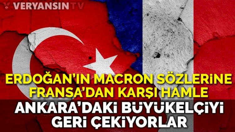 Fransa, Ankara'daki büyükelçisini geri çekiyor