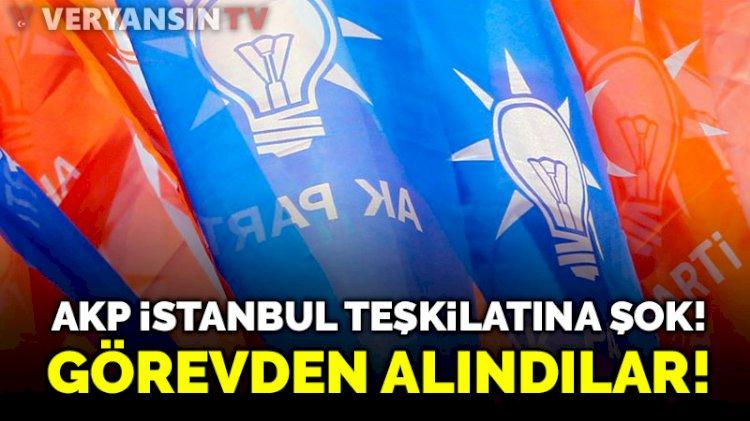 AKP İstanbul teşkilatında 22 ilçe başkanı görevden alındı