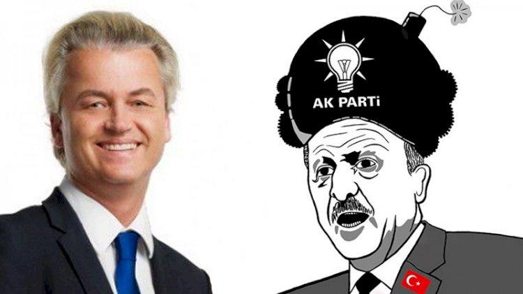 Geert Wilders'dan tepki çeken Erdoğan paylaşımı