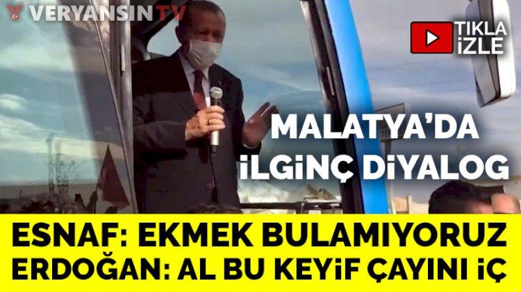 'Eve ekmek götüremiyoruz' diyen vatandaşa Erdoğan'ın yanıtı