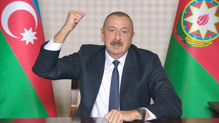 Aliyev: Ateşkes isteyenler Ermenistan'a silah gönderiyor, listesi bende var!