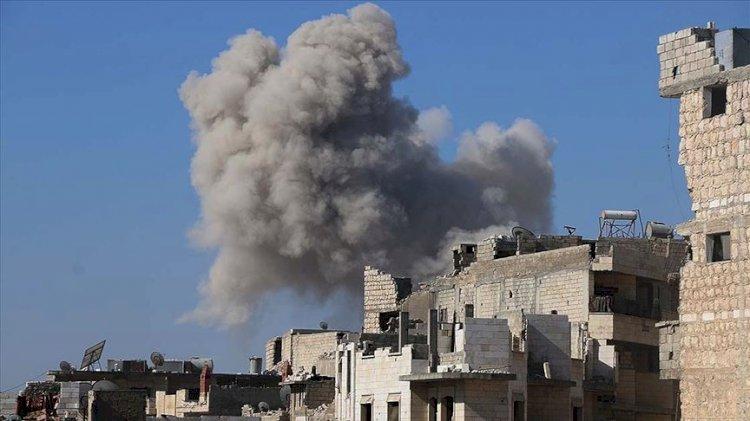 Rus uçakları İdlib'de Türkiye destekli SMO kampını vurdu