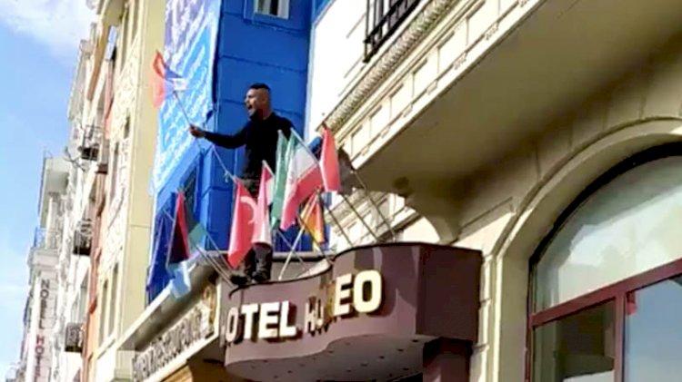 ÖSO'cular İstanbul'da bayrak indirdi
