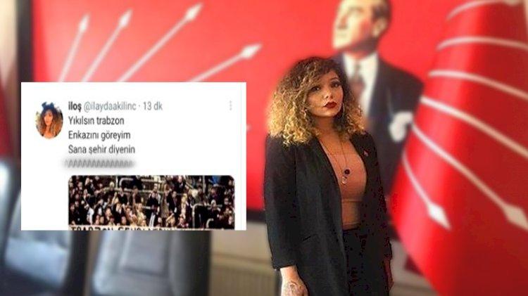 Trabzon'a küfreden CHP'li başkan yardımcısı görevinden alındı