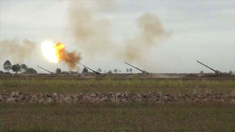 Ermenistan askerleri püskürtüldü