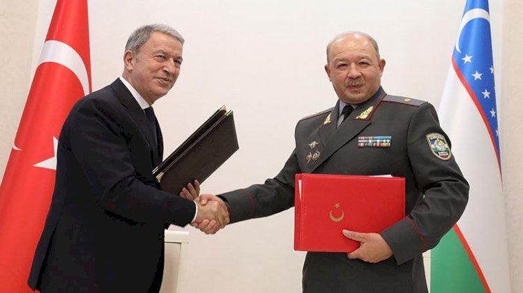 Türkiye ile Özbekistan arasında Askeri Mali İşbirliği Anlaşması