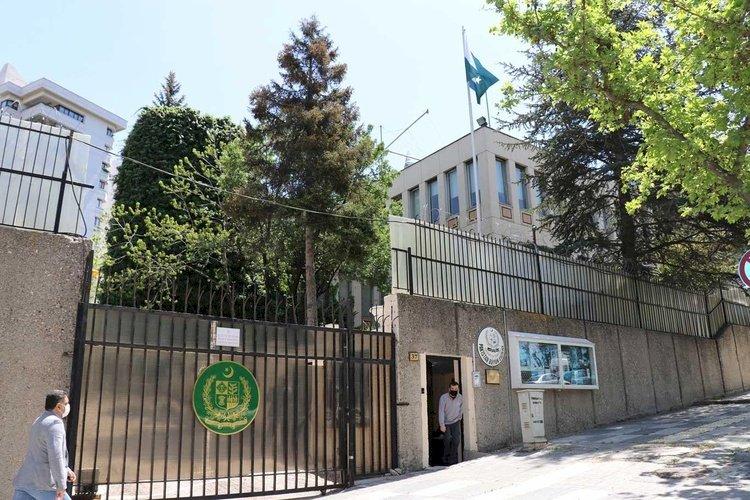 Pakistan Büyükelçiliği'nde 'Keşmir Kara Gün' etkinliği