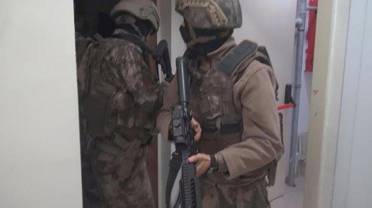 İstanbul'da PKK'ya baskın