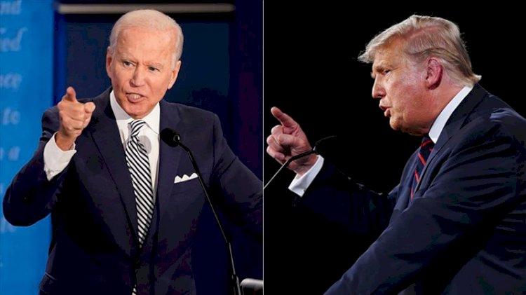Trump ve Biden arasındaki seçimde anketlerde büyük fark