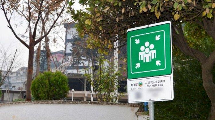 İşte İzmir'deki deprem toplanma alanları