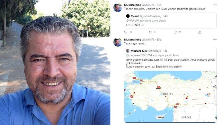 İzmir depremini 15 saat önce bildi, İstanbul için tarih verdi...