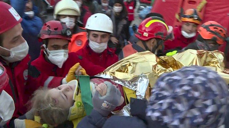 65 saat sonra gelen mucize! Elif bebek kurtarıldı