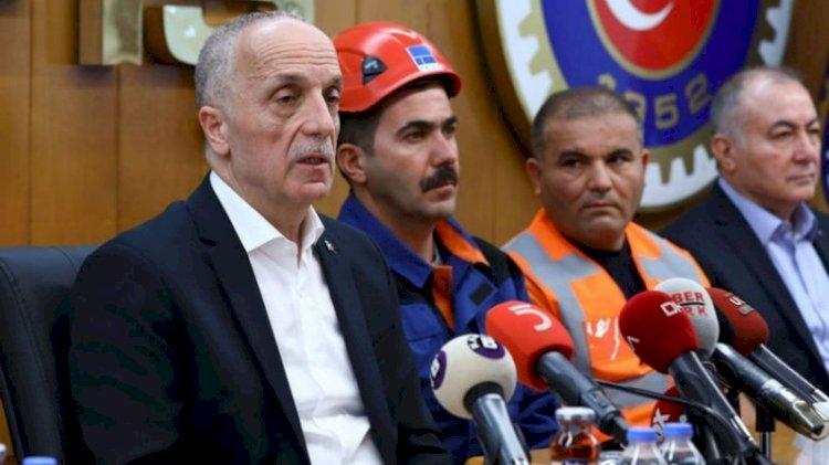 'Kıdem tazminatı tırpanlanıyor' diyen Türk-İş'ten hükümete uyarı: Geri çekin!