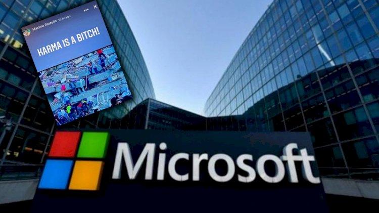 Microsoft'un Fransız çalışanından skandal İzmir depremi paylaşımı!