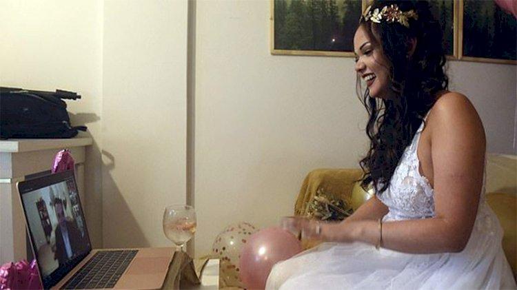 Dünyanın yasal ortamda ilk sanal evliliği!