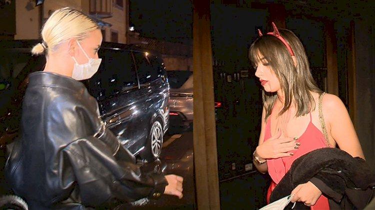 Sosyetenin Cadılar Bayramı partisine koronavirüs baskını