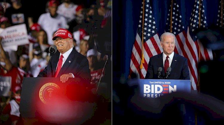 ABD'de seçim gününde Trump ve Biden nerede?