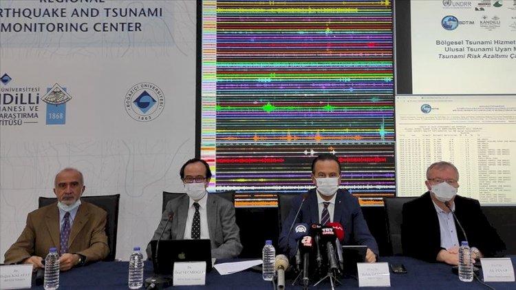Kandilli Rasathanesi İzmir'deki tsunaminin boyutunu paylaştı