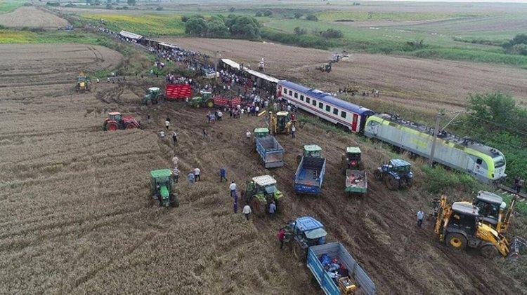 25 kişinin can verdiği tren kazasından yeni rapor tepedekilere işaret etti