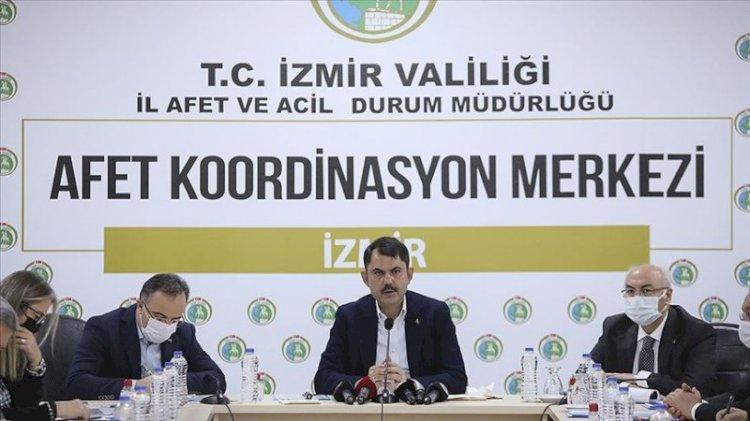 Bakan Kurum: Tüm Türkiye'ye sesleniyorum, riskli binalarda oturmayın