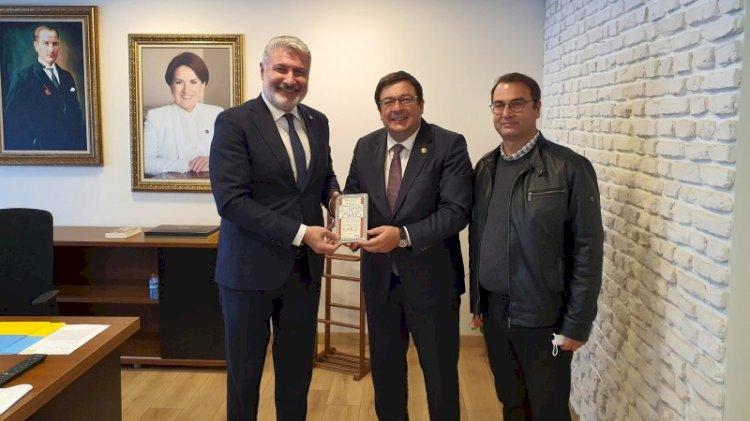 CHP'den İYİ Parti'nin tartışmalı ismine ziyaret
