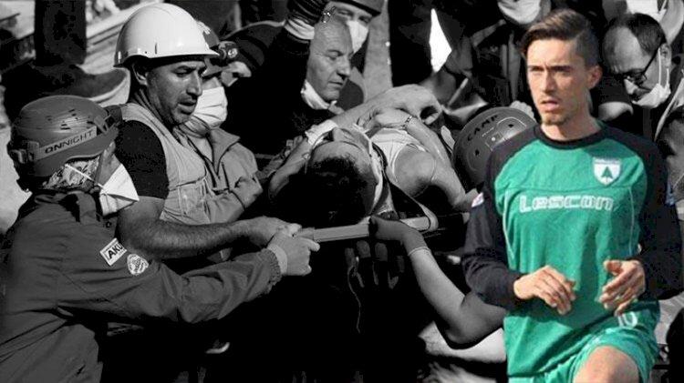Eski Karşıyakalı futbolcu Tahirler, enkazda annesiyle sarılı halde bulunmuş!