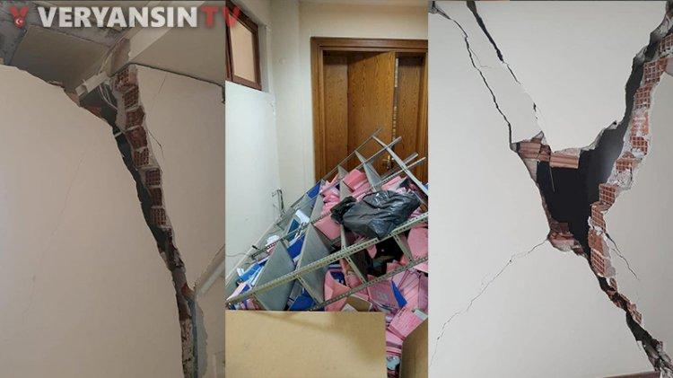 İzmir Adliyesi'nde felaketten dönülmüş