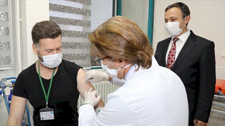 Yerli aşı ilk kez insanda denendi