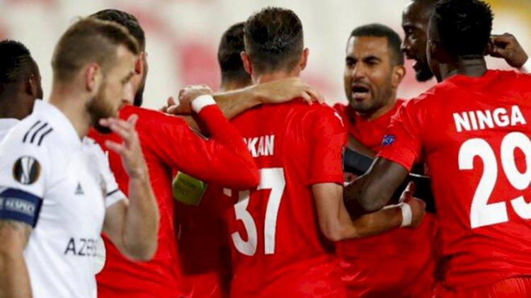 Sivasspor'dan Avrupa'da bir ilk!