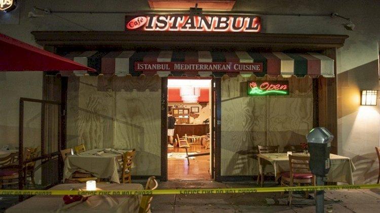 ABD'de Ermeni gruptan Türk restoranına çirkin saldırı