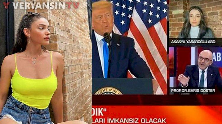 CNN Türk'ün 'uzman' diye canlı yayına çıkardığı genç kadın kim çıktı