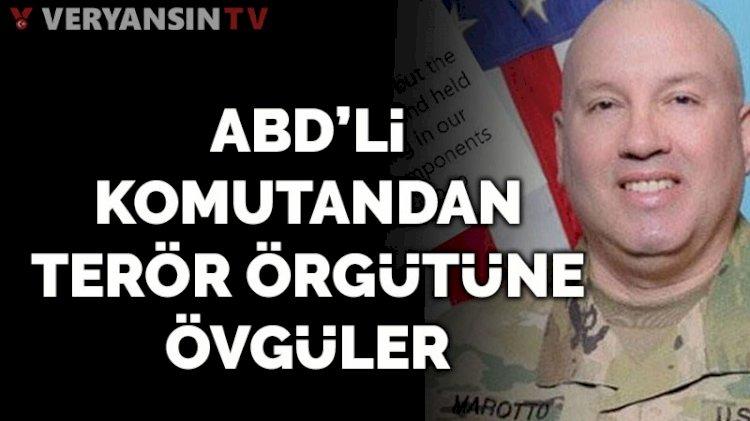 ABD'li komutandan terör örgütü PKK'nın uzantısı SDG'ye övgü