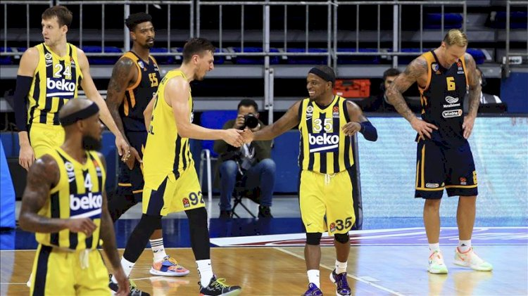 Fenerbahçe Beko, Euroleague'de formunu buldu