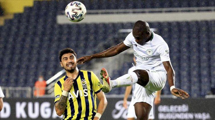 Lider Fenerbahçe'ye Konyaspor çelmesi