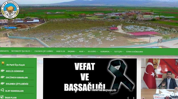 Belediye resmi internet sitesine AKP üyeliği sekmesi koydu
