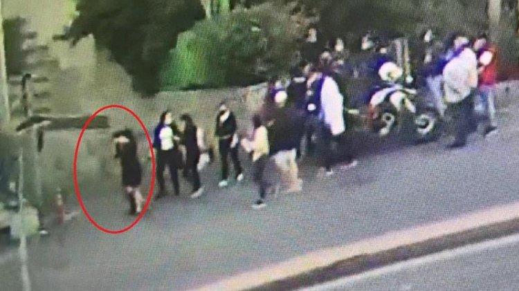 Taciz ve kapkaç şüphelisini vatandaşlar kovaladı
