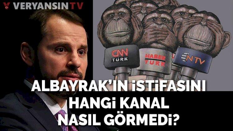 Berat Albayrak istifa iddiasına medya üç maymunu oynadı