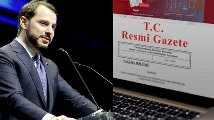 Bakan Albayrak'ın istifa haberi sonrası Resmi Gazete yayınlandı