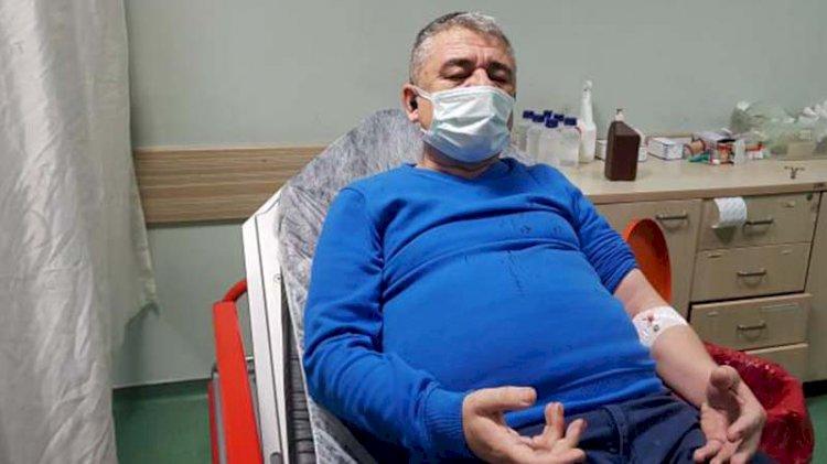 Karabük'te gazeteciye saldırı