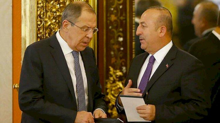 Çavuşoğlu ve Lavrov 'Karabağ'ı görüştü