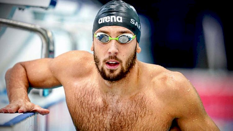 Milli yüzücü Emre Sakçı, Avrupa rekoru kırdı