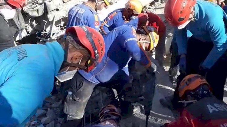 Depremin kahramanları koronavirüs karantinasında