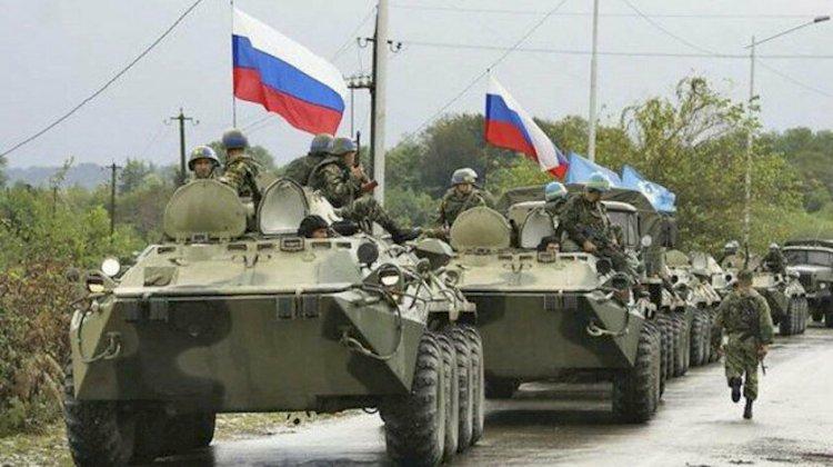 Rus barış güçleri Karabağ'da