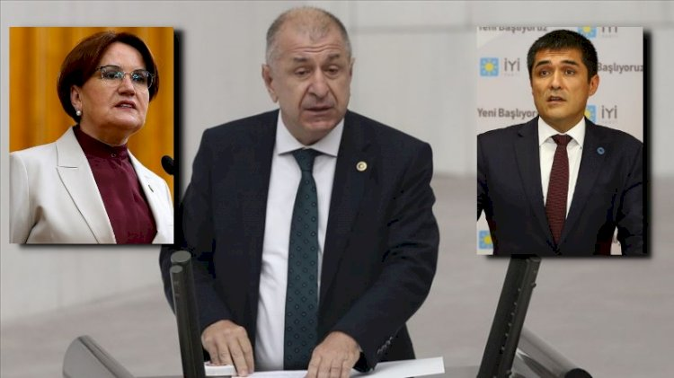 Ümit Özdağ, İYİ Parti'den gizlenen o toplantıları açıkladı