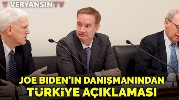 Joe Biden'ın danışmanından dikkat çeken Türkiye açıklaması