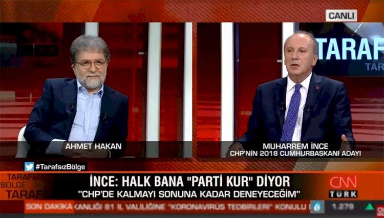Muharrem İnce'den CHP yönetimine sert sözler: 3 ayda bir iftira atıyorlar