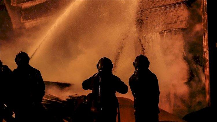 Ankara Siteler'de çıkan yangın çevredeki binalara sıçradı