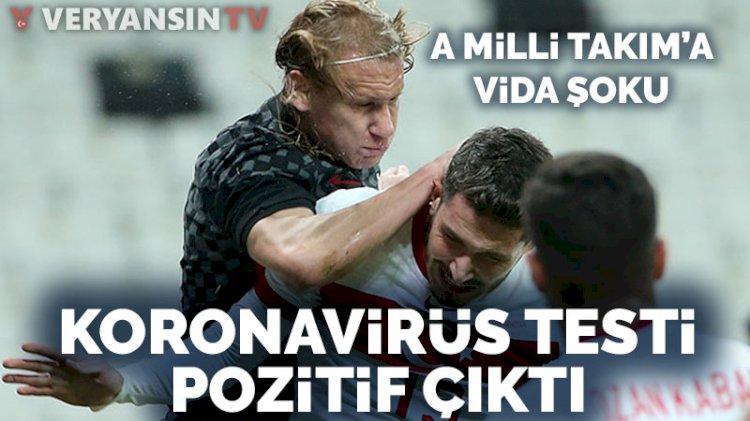 Milli maçta forma giyen Domagoj Vida'nın koronavirüs testi pozitif!