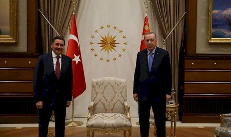 Beştepe'de dikkat çeken buluşma: Erdoğan ile Melih Gökçek bir araya geldi